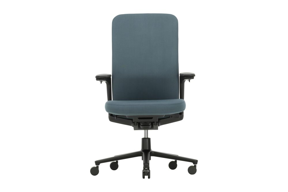 Pacific Chair with Medium Backrest and 3D Armrests by Vitra
