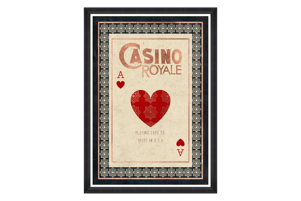 Casino Royale Framed Art by Mind The Gap