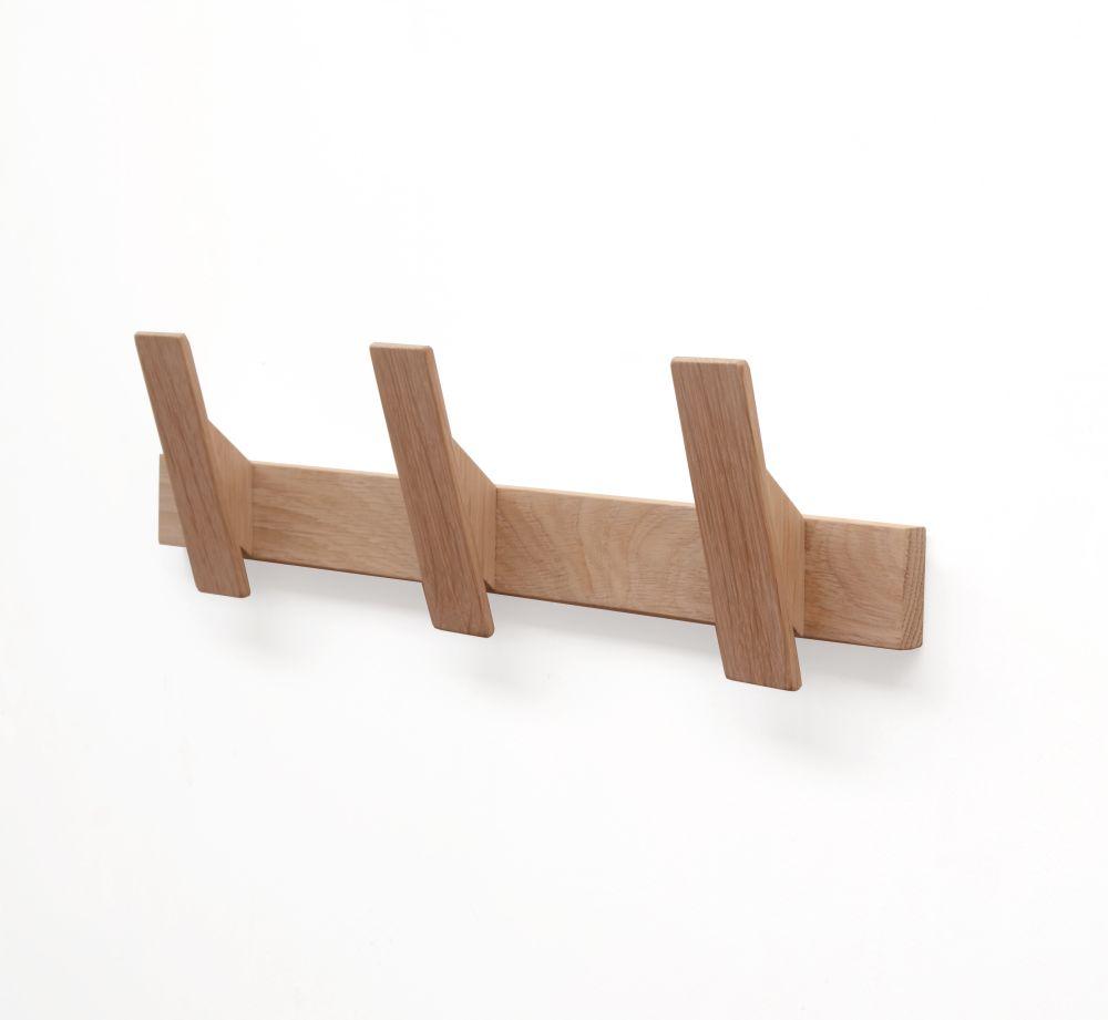 Oak Coat Rack by Utology