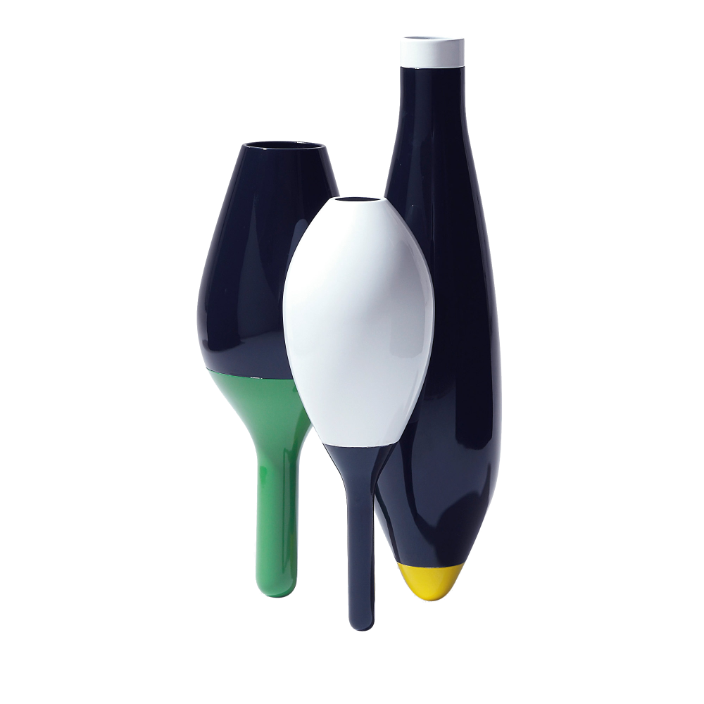 3 Set Vases by Cappellini