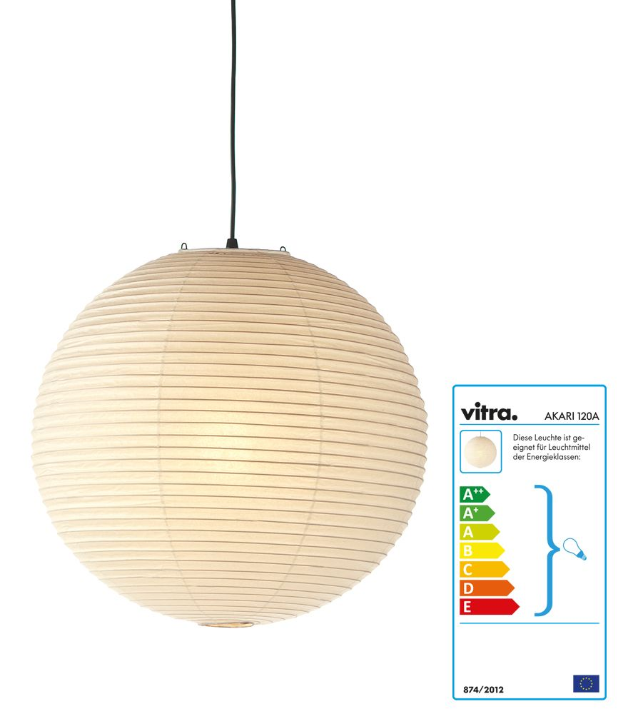 Akari Light Sculptures 120A by Vitra