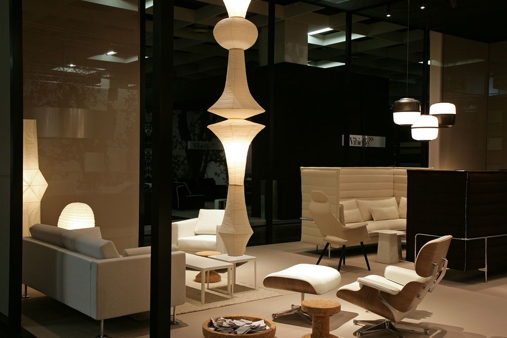 Akari Light Sculptures E By Vitra Clippings
