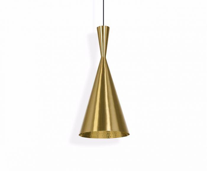Beat Tall Pendant Light by Tom Dixon