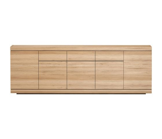 Burger sideboard - 5 doors - 3 drawers by Ethnicraft