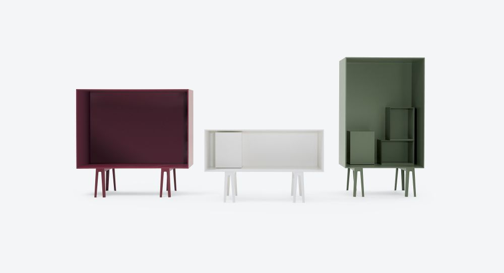 Butterfly High Open Unit by Cappellini