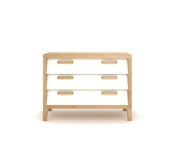 Oak Marius Chest 60'S - 3 Drawers by Ethnicraft