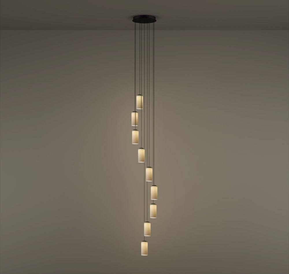 Cirio Cascada Circular Canopy Pendant Light by Santa & Cole