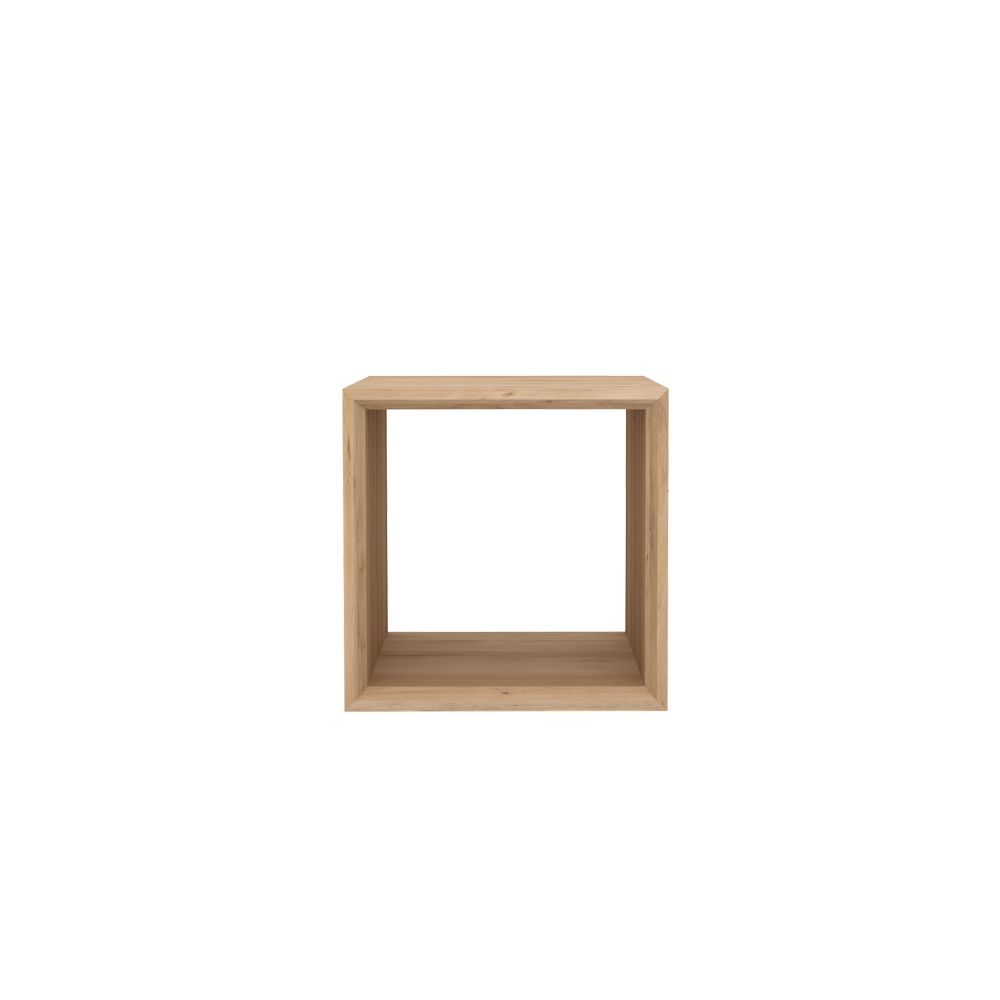 Cube Closed Side Table by Ethnicraft