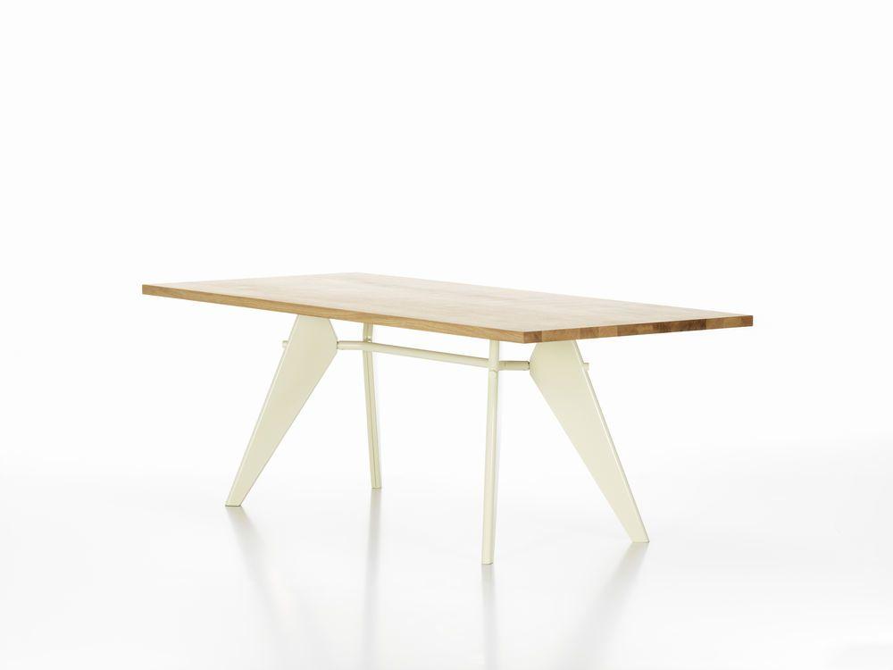 EM Wood Rectangular Table by Vitra