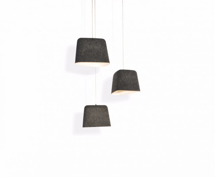 Felt Pendant Light by Tom Dixon