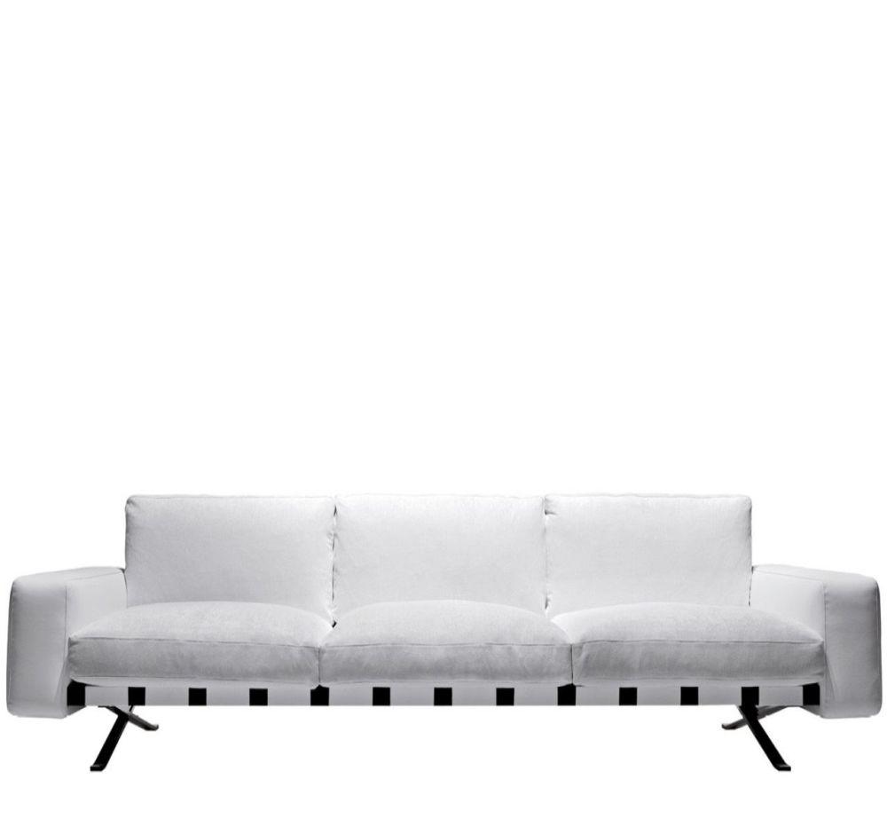 Fenix 1 - Three-Seater Sofa by Driade