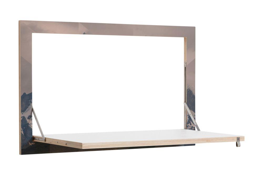 Fläpps Secretary Wall Desk by AMBIVALENZ