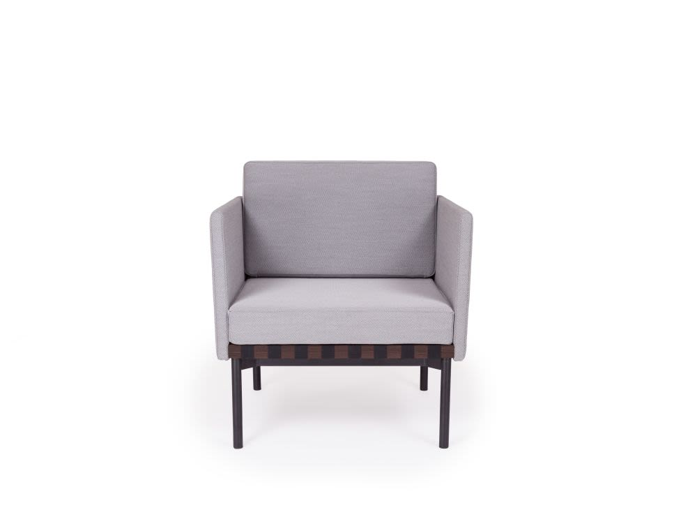 Grid - Armchair with 2 Armrests by Petite Friture