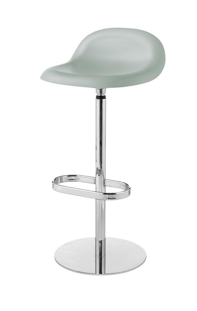 Gubi 3D Bar Stool Swivel Base - Unupholstered by Gubi