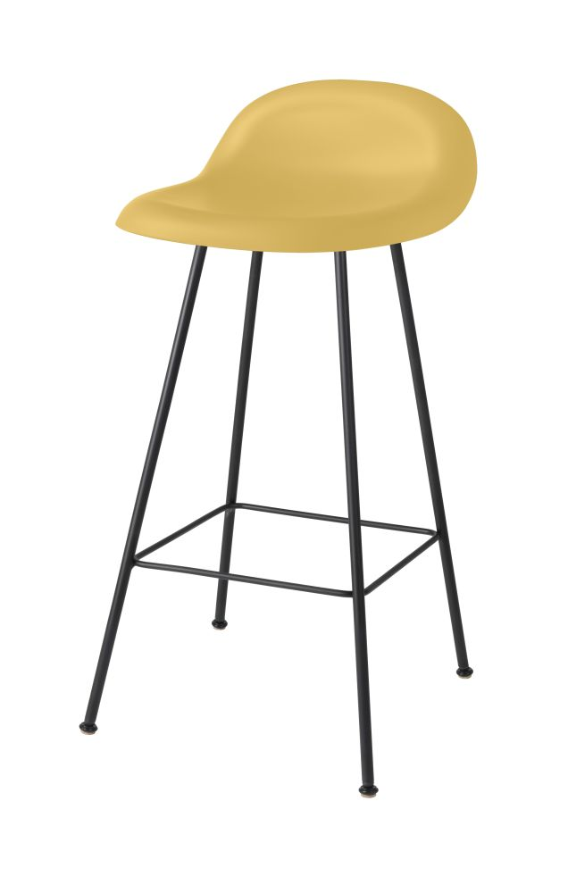Gubi 3D Counter Stool Center Base - Unupholstered by Gubi