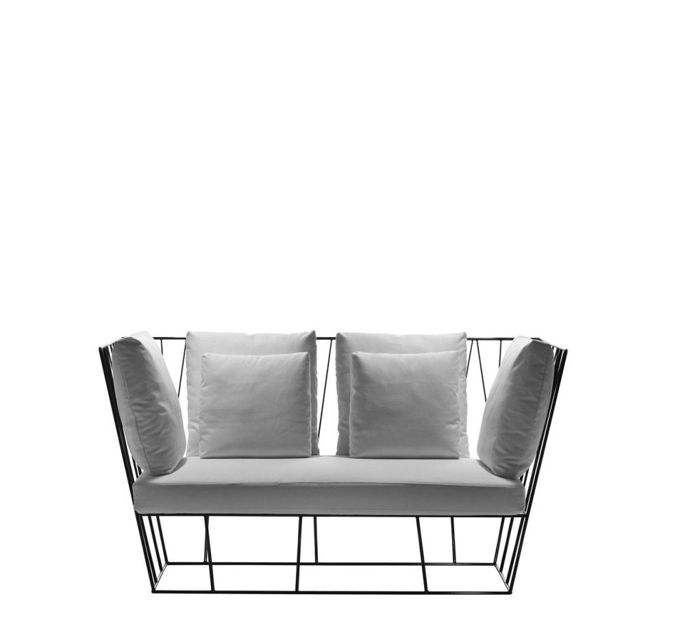 Herve Two-seater sofa by Driade