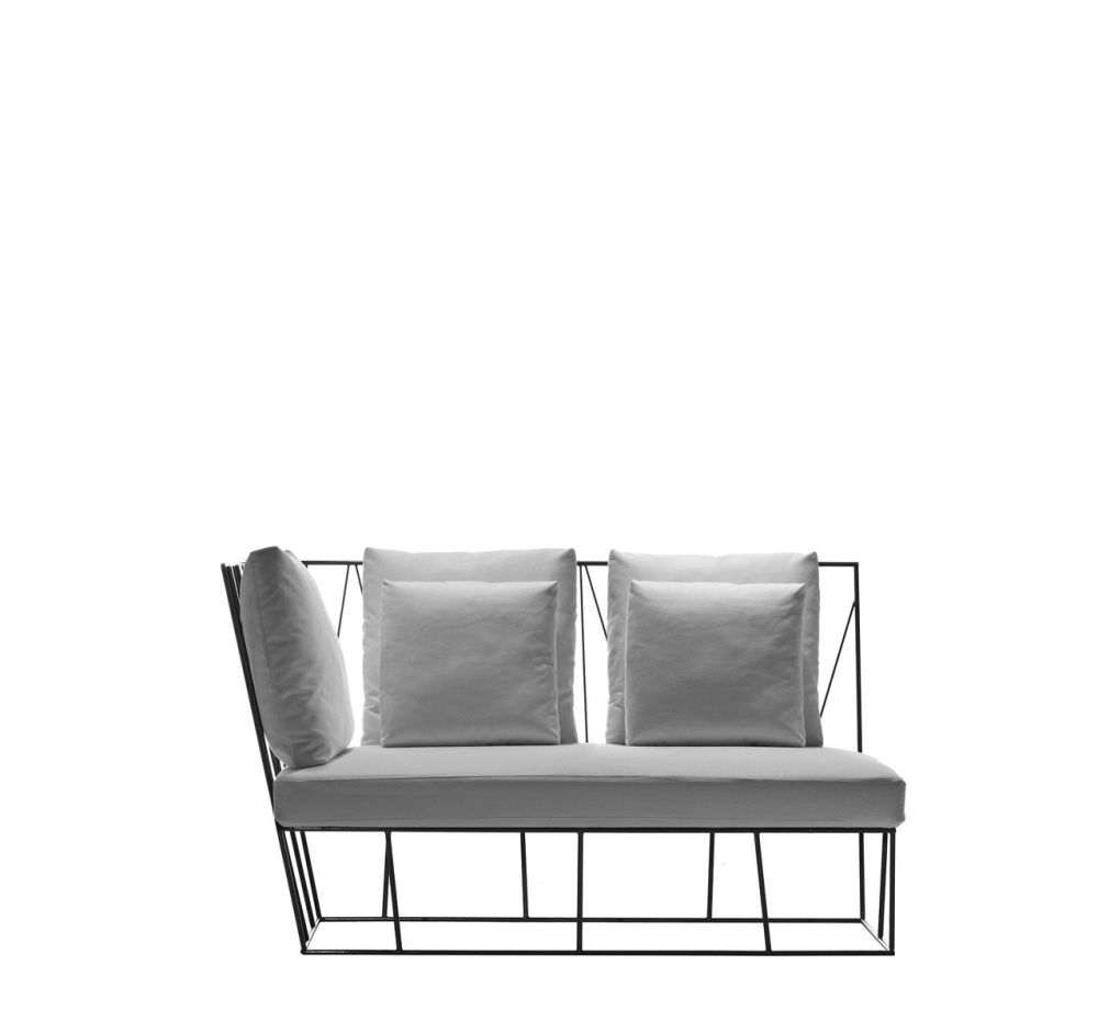 Herve Two-seater terminal by Driade