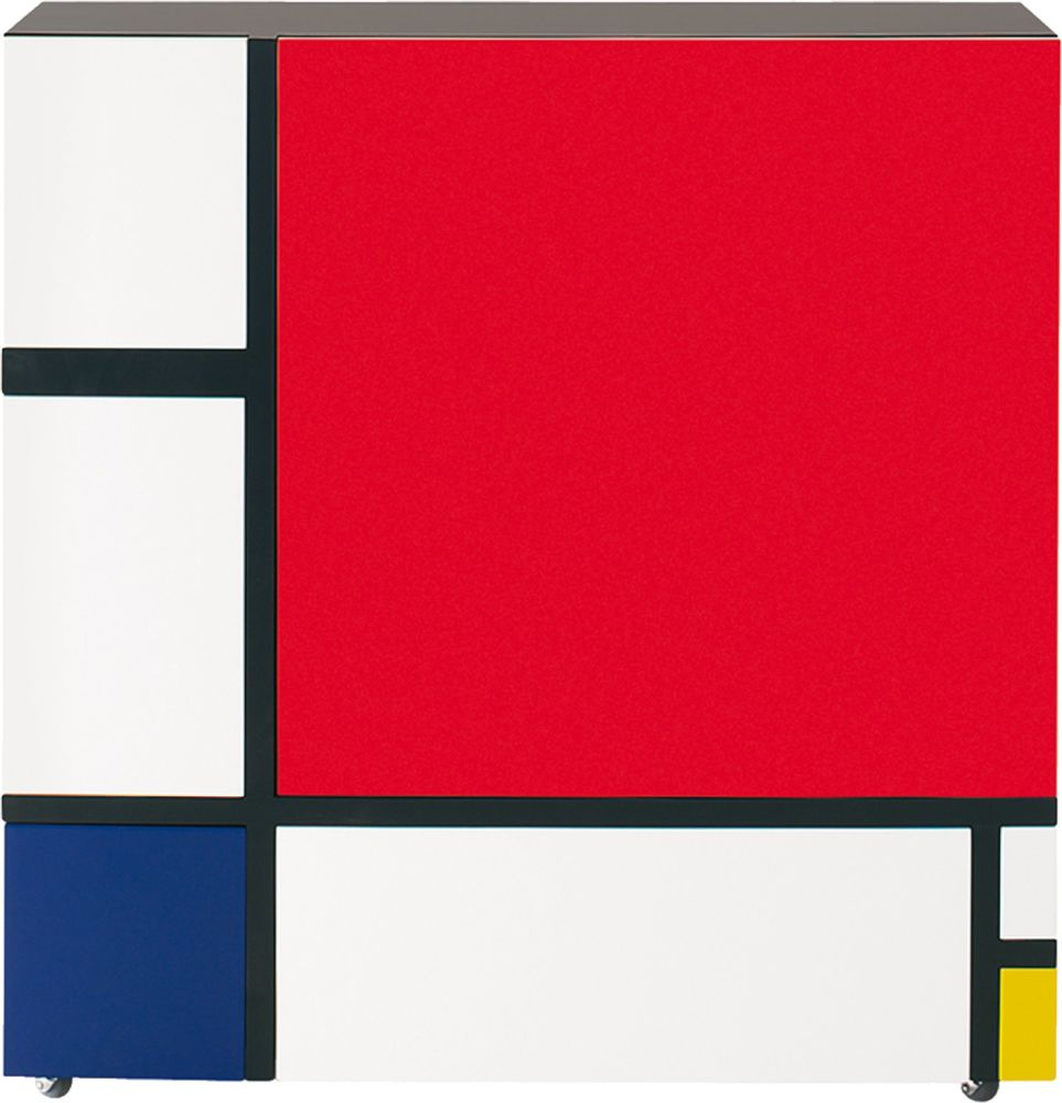 Homage to Mondrian by Cappellini