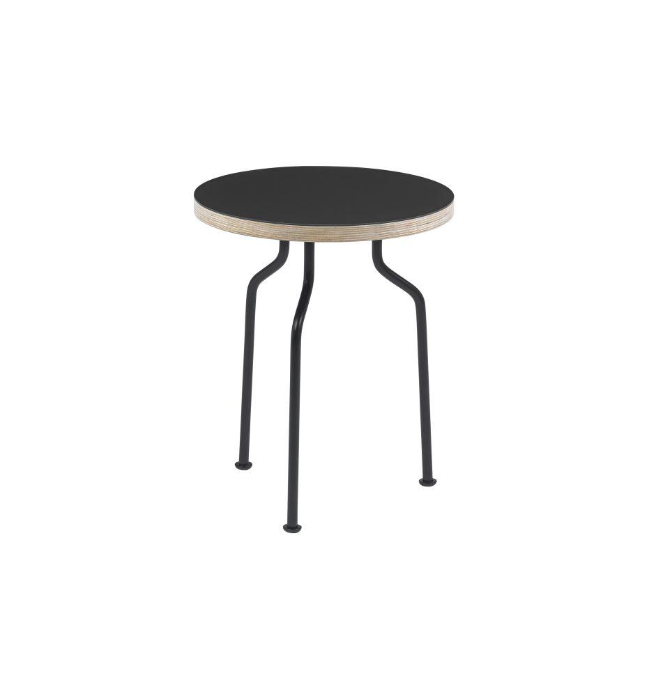 Modern Line Side Table by Gubi