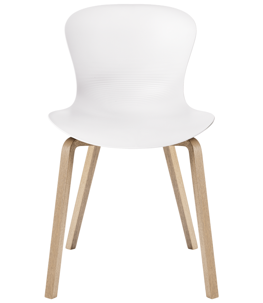 Nap chair - wooden legs by Republic of Fritz Hansen