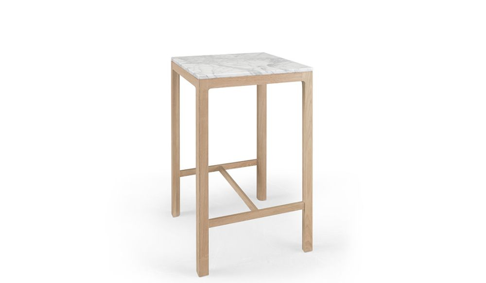Nuda High Square Table by Wewood
