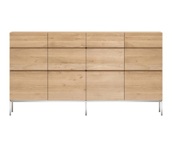 Oak Ligna High Sideboard by Ethnicraft