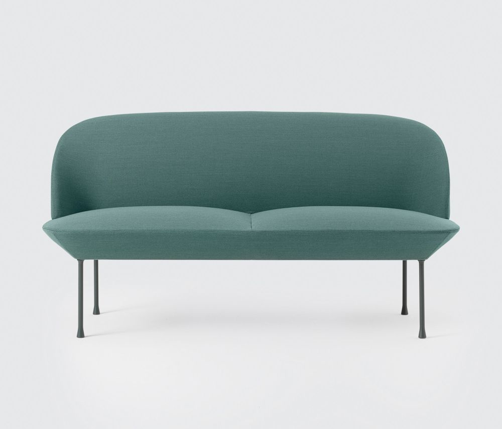 2 Seater Fiord 151, Dark Grey By Muuto Clippings
