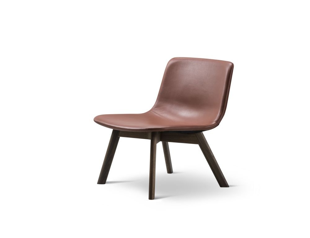 Pato Lounge Wood Base Chair by Fredericia