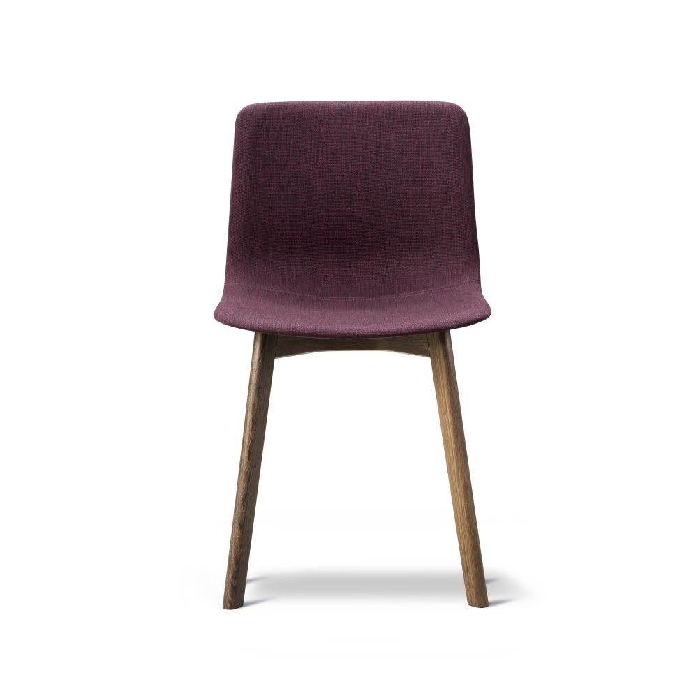 Pato Wood Base Chair Full Upholstered by Fredericia