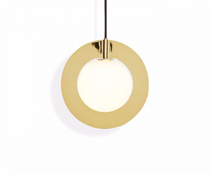 Plane Round Pendant Light by Tom Dixon