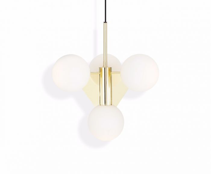 Plane Short Chandelier by Tom Dixon