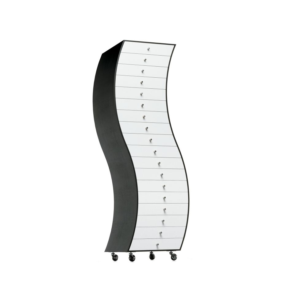Progetti Compiuti Side 1 Curved Chest Of Drawers by Cappellini