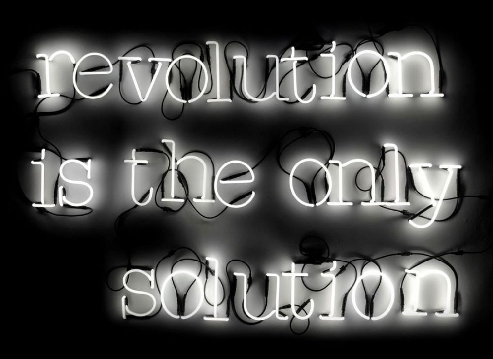 Revolution Is The Only Solution by Seletti