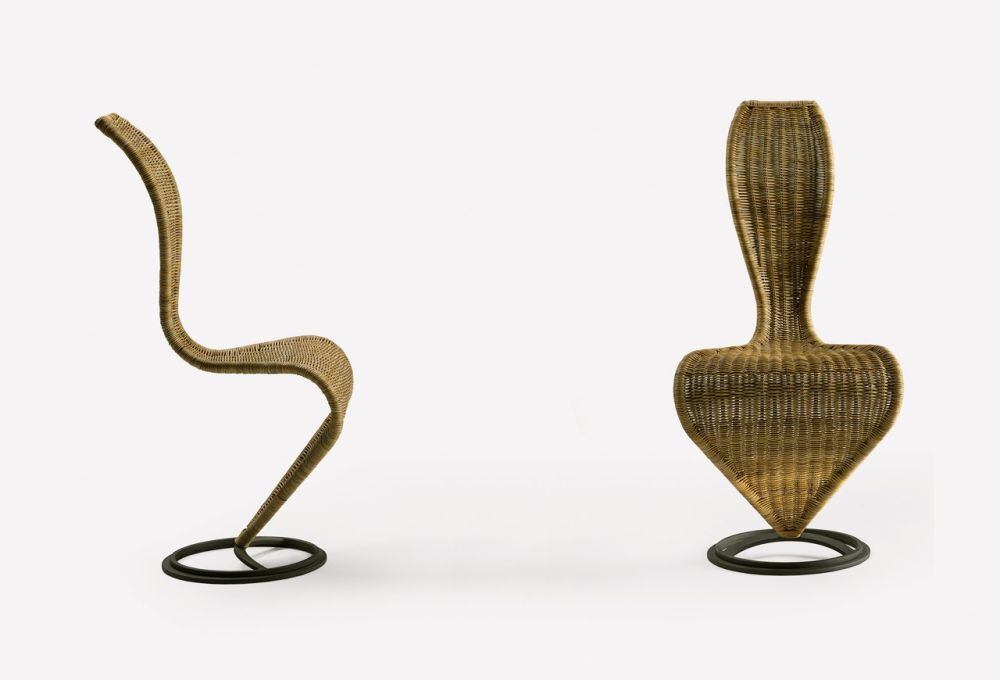 S-Chair Unupholstered by Cappellini