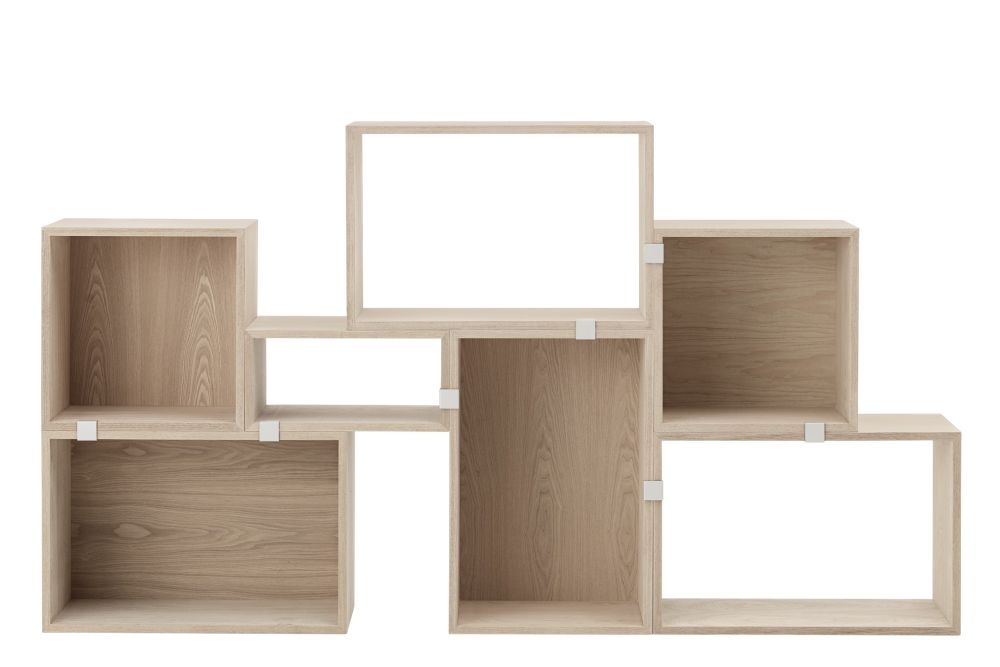 Stacked Storage System 2.0 - Configuration 3 by Muuto