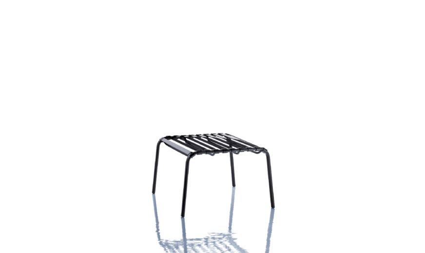 Striped Footstool by Magis Design