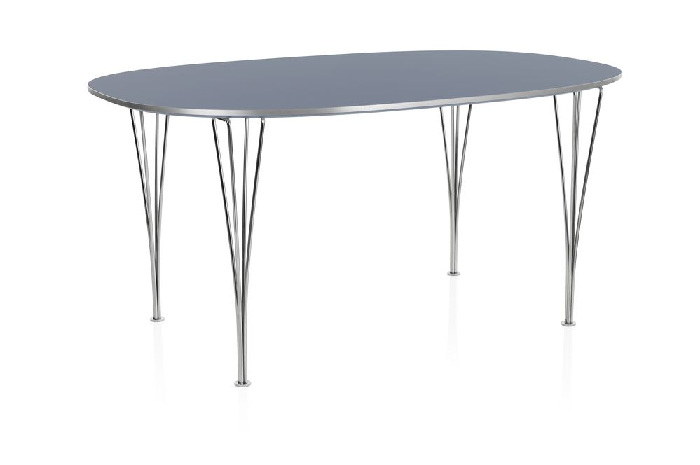 Super-elliptical Dining Table by Republic of Fritz Hansen