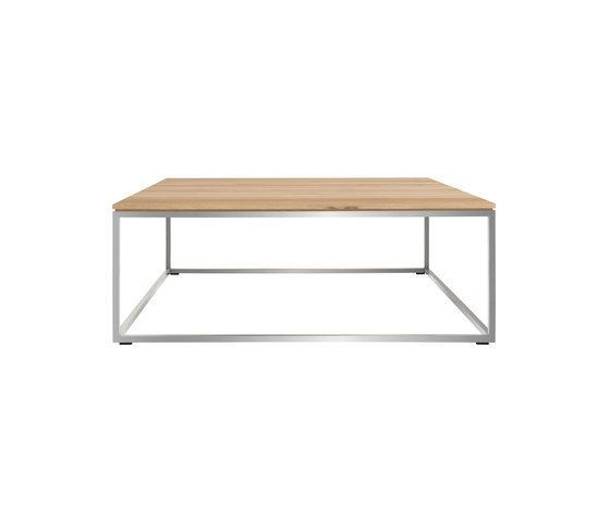 Thin Square Coffee Table by Ethnicraft
