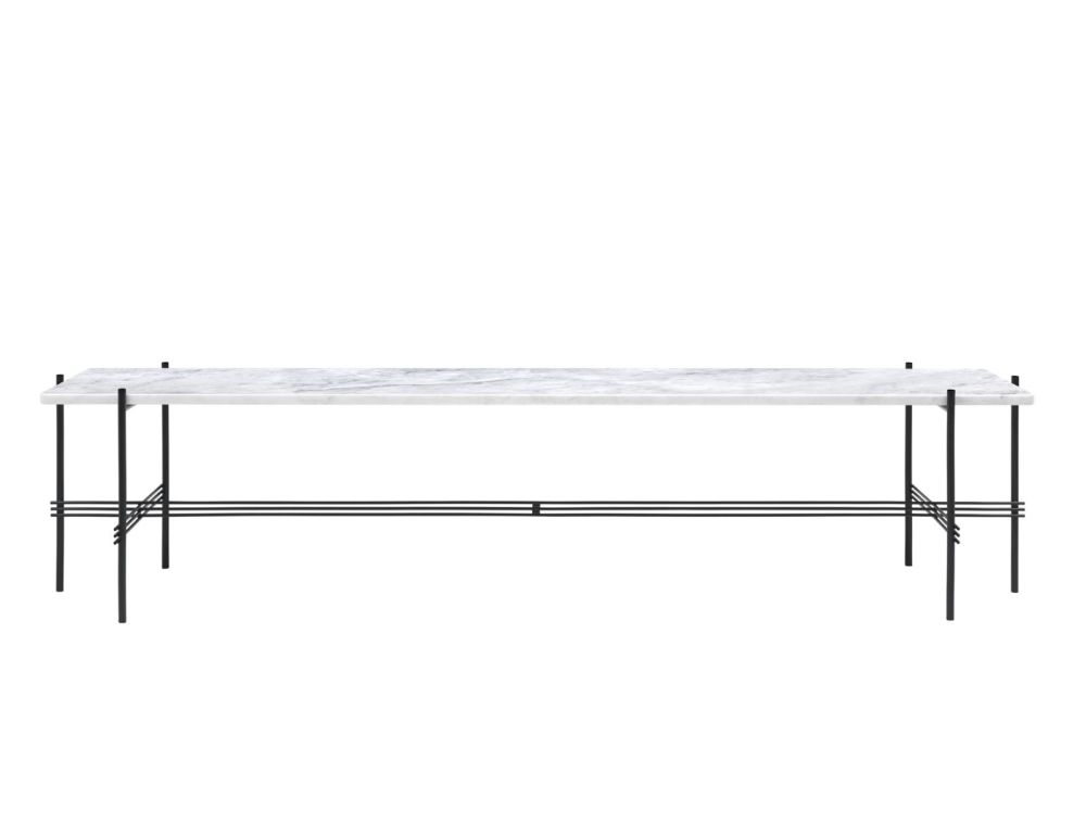 TS Rectangular Console Table One Rack by Gubi