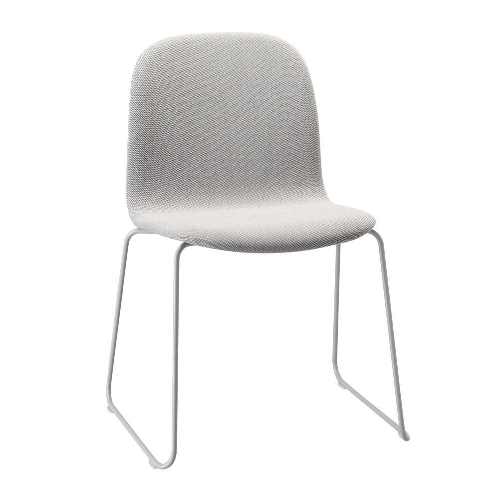 Visu Chair Sled Base Upholstered by Muuto