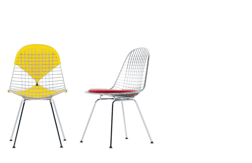 Wire Chair DKX 2 by Vitra