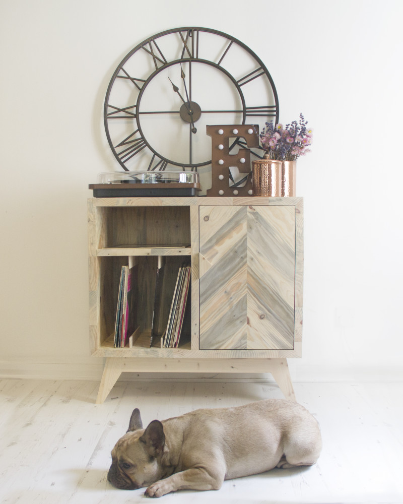 hand made furniture from reclaimed wood