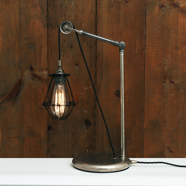 Apoch Pulley Cage Table Lamp