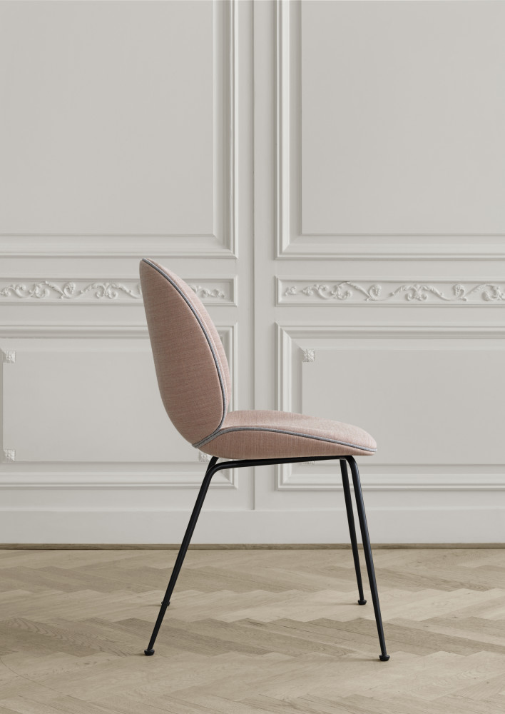 beetle dining chair by gubi. Black Bedroom Furniture Sets. Home Design Ideas