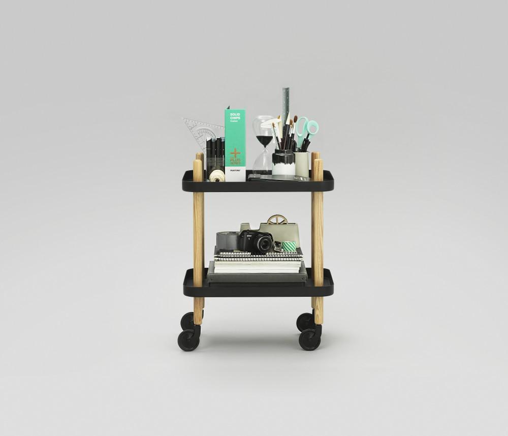 block side table light grey by simon legald for normann copenhagen. Black Bedroom Furniture Sets. Home Design Ideas