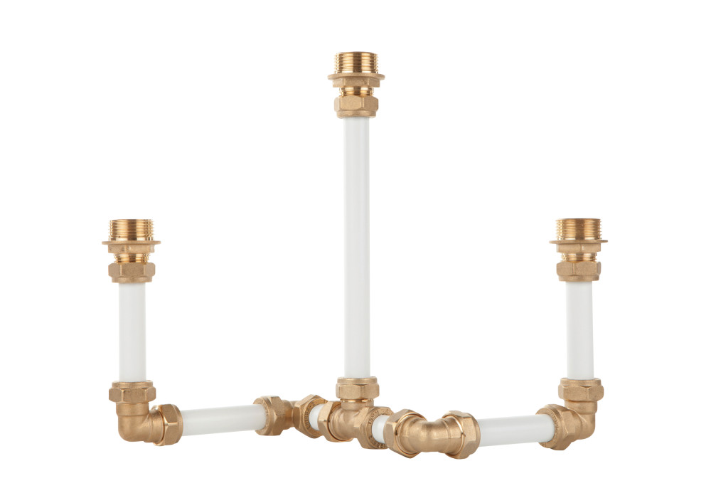 Candelabra Three (White)