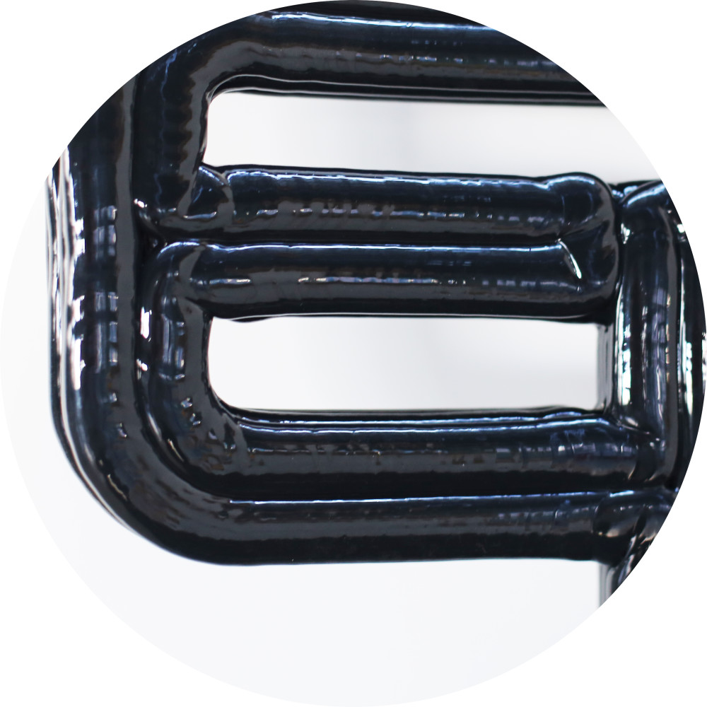 Detail of Chubby Chair, Black