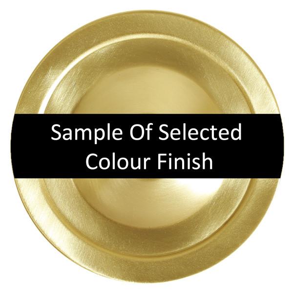 Satin Brass Colour Finish