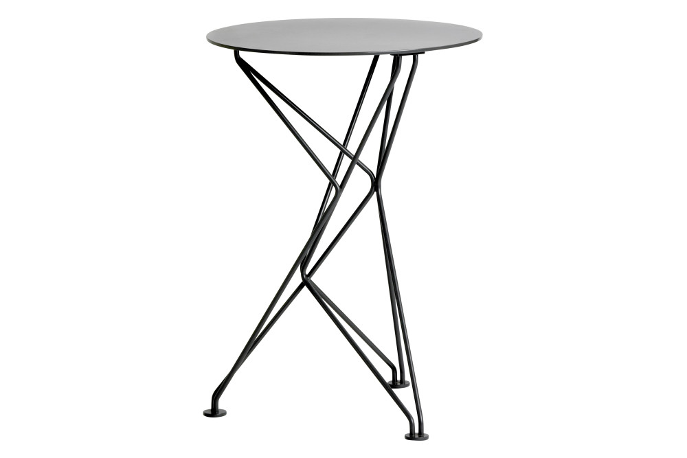 Fractal Side Table in Lacquered Steel by Niche London
