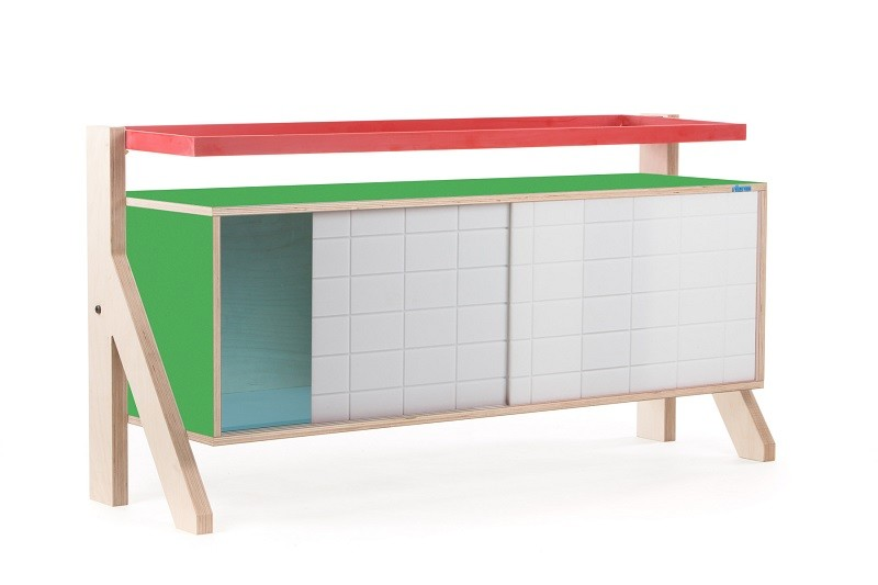 Frame Sideboard 03 Small - Palm Leaf Green
